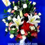 Rangkaian Bunga Meja Murah