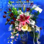 Rangkaian Bunga Selamat