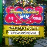 Bunga Papan Wedding PW6501