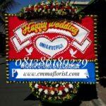 Bunga Papan Wedding PW7001