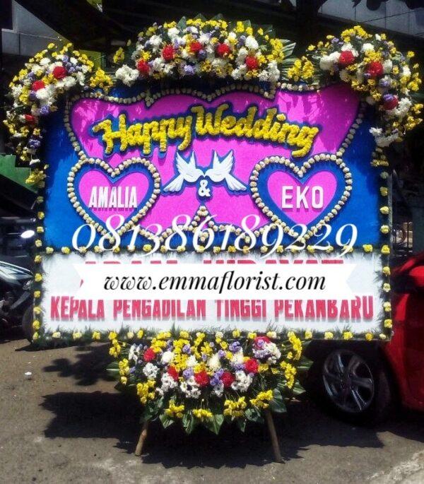 Bunga Papan Wedding PW8502