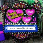 Bunga Papan Wedding PW8003
