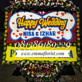 Bunga Papan Wedding PW9003