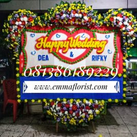 Bunga Papan Wedding PW8506