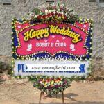 Bunga Papan Wedding PW7004