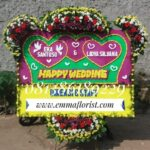 Bunga Papan Wedding PW8005
