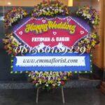 Bunga Papan Wedding PW12006
