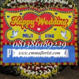 Bunga Papan Wedding PW8507