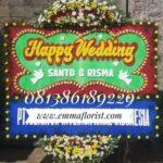 Bunga Papan Wedding PW7005