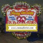 Bunga Papan Wedding PW9005