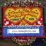 Bunga Papan Wedding PW8505