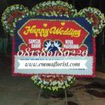Bunga Papan Wedding PW8504