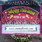 Bunga Papan Wedding PW7503