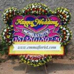 Bunga Papan Wedding PW15004