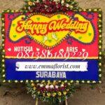 Bunga Papan Wedding PW7003