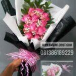 Buket Bunga Mawar Pink BB3501