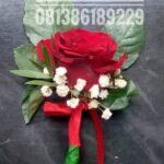 Corsage Mawar Merah CD301