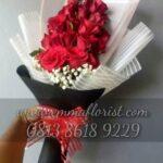 Buket Bunga Mawar Merah Asli BB3001