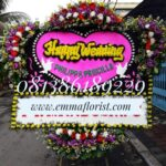 Bunga Papan Wedding PW10007