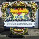 Bunga Papan Wedding PW12002
