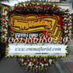 Bunga Papan Wedding PW100021