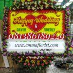 Bunga Papan Wedding PW10001
