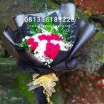 Mawar Merah Pink Buket BB4003