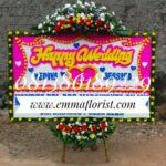 Bunga Papan Wedding PW5508