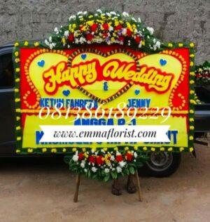 Bunga Papan Wedding PW5006