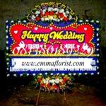 Bunga Papan Wedding PW5004