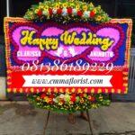 Bunga Papan Wedding PW5507