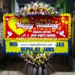 Bunga Papan Wedding PW6002