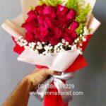 Buket Bunga Murah Mawar Merah BB3005