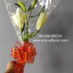 Bunga Lily Tangkaian MT751
