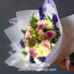 Buket Bunga Bulat BB6001