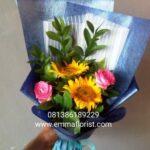 Buket Bunga Graduation Sederhana BB2002