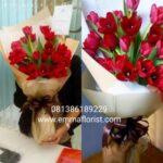 Buket Tulip Merah BB8501