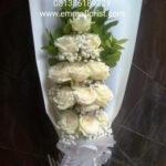 Buket Bunga White Rose BB2802