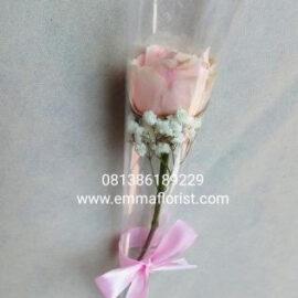 Bunga Mawar Pink Tangkai MT2501